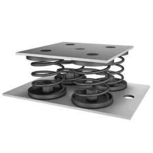 Isotop MSN-BL Stahlfeder-Blockelement