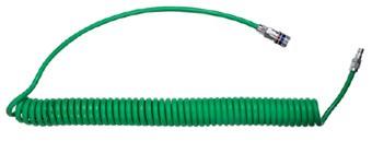 Spiralschlauch-Kupplung-Set funkenerosionsgescützt