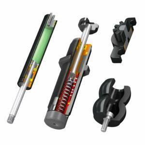 Stoßdämpfer / Gasfedern / Bremsen