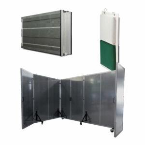 Schallschutz-Trennwände und Vorhangsysteme