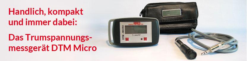 Trumspannungsmessgerät DTM Micro