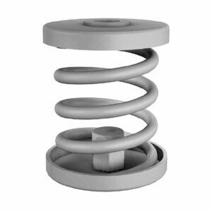 Isotop MSN Stahlfederisolator galvanisiert