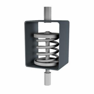 Isotop MSN/Z Stahlfederisolator