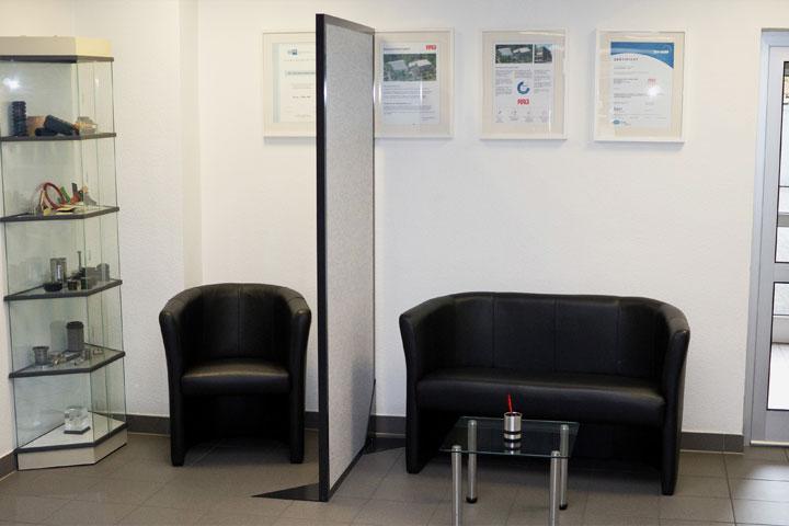 Lärmschutztrennwand für Büro / Office